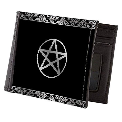 Wallet Pentagram (CafePress - Silver Pentacle - Mens Wallet, Bi-fold Wallet, Billfold Money Holder)