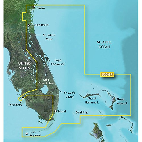 Garmin VUS009R - Jacksonville to Key West - SD - Canal Shopping St