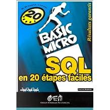 SQL EN VINGT ÉTAPES