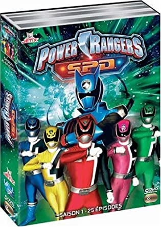Amazoncom Power Rangers Spd Saison 1 Movies Tv