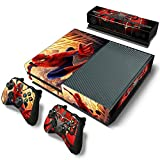 Mod Freakz Console and Controller Vinyl Skin Set - Web Swinging Insect for Xbox One