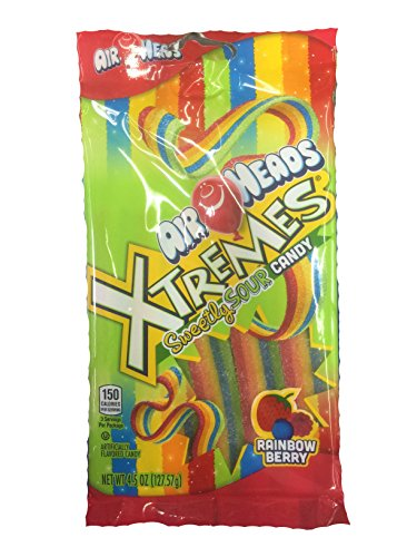 AirHeads Xtremes Sweetly Sour Candy, 4.5 oz