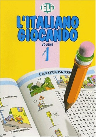 L'Italiano Giocando (Easy Word Games in Five Languages, Book 1) (Italian Edition) by Brand: Distribooks Inc
