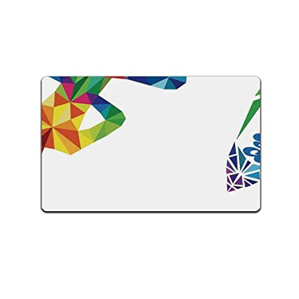 Amazon.com : ALUONI Yoga Various Print Floor Mat, Aerial ...