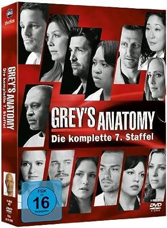 Grey\'s Anatomy: Die jungen Ärzte - Die komplette 7. Staffel 6 DVDs ...