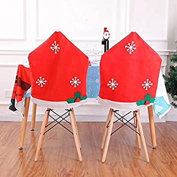 Pleasant Amazon Com Chair Cover Christmas Chair Cover Decor Non Caraccident5 Cool Chair Designs And Ideas Caraccident5Info