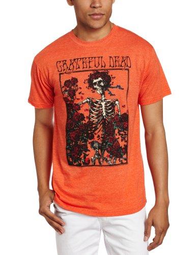 Grateful Dead Halloween Shirt (Impact Merchandising Men's Grateful Dead Bertha T-Shirt,Heather)