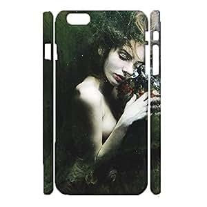 Durable 3D Hard Plastic Cover Fit iPhone 6 Plus/6s Plus 5.5 Inch,Visual Cute Underwater Photographs Printed Phone Case Snap on iPhone 6 Plus/6s Plus 5.5 Inch