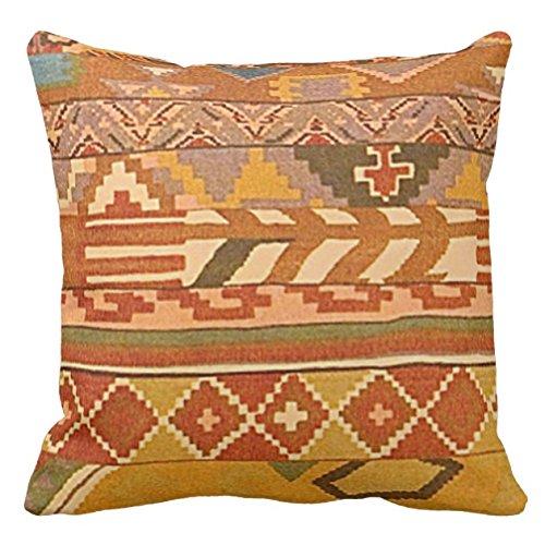 Azteca Funda de almohada oscuro azteca patrón Throw almohada ...