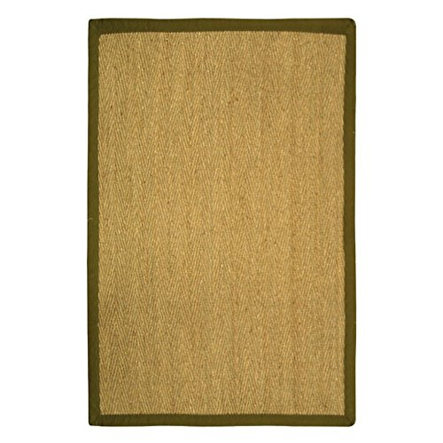 Safavieh Natural Fiber NF115G-210 Area Rug - Natural / Olive