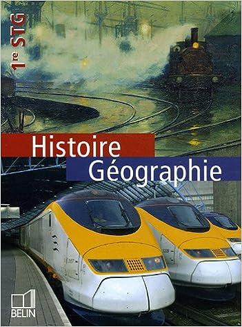 Livre gratuits en ligne Histoire Géographie 1e STG epub, pdf