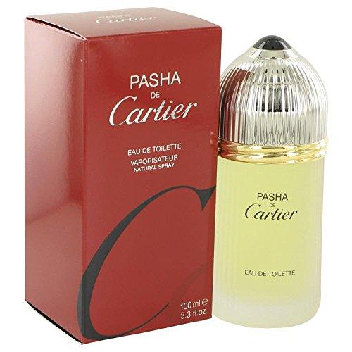 PASHA DE CARTIER by Cartier Eau De Toilette Spray 3.3 oz for Men – 100% Authentic
