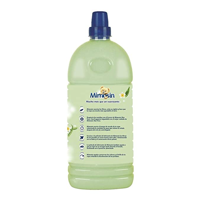 Mimosín Aloe Vera Suavizante Concentrado para 58 lavados - 8 ...
