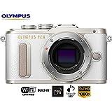 Olympus PEN E-PL8 16.1MP Wi-Fi White Mirrorless Digital Camera Body V205080WU000B - (Certified Refurbished)