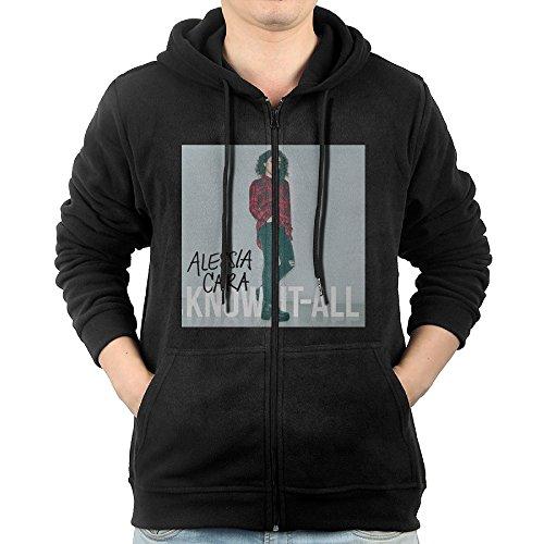 Alessia Cara - Scars To Your Beautiful Mens Zip Cool Hoodies Sweatshirts Best Hoodie