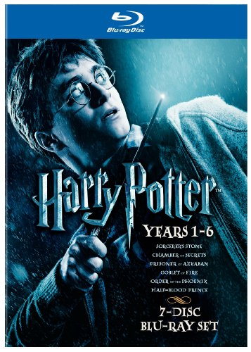 Harry Potter Years 1-6 Giftset [Blu-ray] (Harry Potter Box Movie Set)