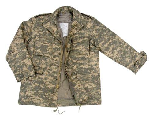Acu M-65 Field Jacket (Ultra Force Acu Digital M-65 Field Jacket, Army Digital Camo, 2XL)