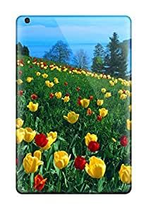Fashion ZYHVpUw3910IblZA Case Cover For Ipad Mini/mini 2(nice Tulip Field ) by lolosakes