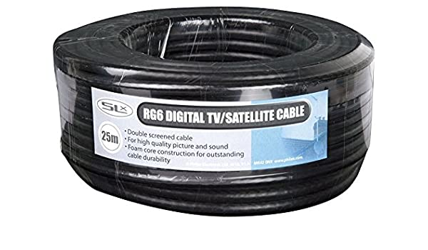 Philex 27600F25 - Cable coaxial (5 metros), negro: Amazon.es ...