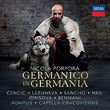 Porpora: Germanico in Germania (3 CD)