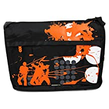 DURAGADGET Premium Quality 'On-Tour' Print Messenger & Shoulder Bag in Satchel-Style for the NEW HP Star Wars 15-an000nf Special Edition Laptop