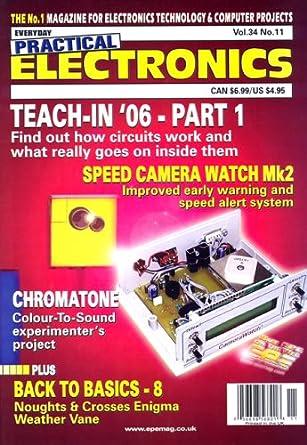 everyday practical electronics amazon com magazinesElectronic Circuit Magazine #17