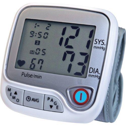 Lumiscope 1147 Automatic Wrist Blood Pressure Monitor, White