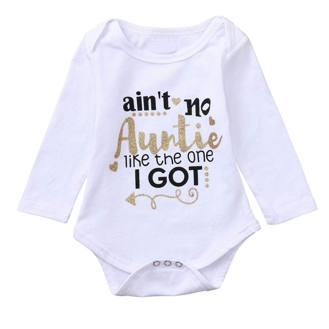HEFEITONG on Clearance Newborn Playsuit One Piece Outfits Clothes Set Onsies 0.76