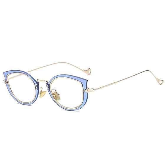 7da77108f4eb2f Juleya Cat Eye Brille für Männer Frauen - Mode Brillen Brillengestell  1229YJJ02  Amazon.de  Bekleidung