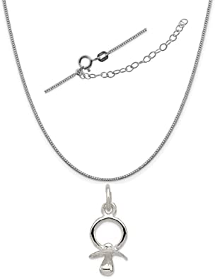 18 or 20 inch Rope Rembrandt Charms Two-Tone Sterling Silver Closed Book Charm on a Sterling Silver 16 Box or Curb Chain Necklace