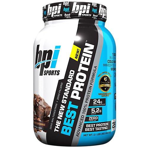 BPI Sports Best Protein Whey Formula, Chocolate Brownie, 2 Pound