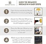 Decal Remover Eraser Wheel. Remove Car