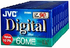 Jvc Mdv60Du10 Mini Digital Video Cassette (10-Pk)