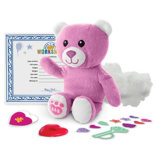 Build-a-Bear Workshop Furry Friends - Pink Bear (Build A Bear Certificate compare prices)