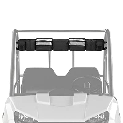 UTV Roll Cage Organizer, kemimoto Roll Cage Cargo Storage Bag Gear bags Compatible with Polaris Ranger RZR, Honda Pioneer- Most Full Size UTVs: Automotive [5Bkhe1007343]
