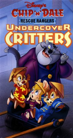 Chip 'n' Dale Rescue Rangers - Undercover Critters [VHS]