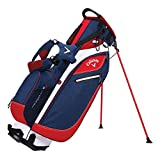 Callaway Hyper-Lite 3 Stand Bag Golf Carry Bag 2017 Navy/Red/White New