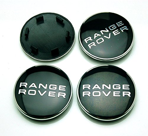 BENZEE 4pcs W300 63mm Car Emblem Badge Sticker Wheel Hub Caps Centre Cover RANGE ROVER