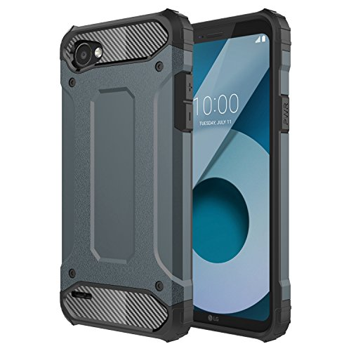 LG Q6 Case, LG Q6 Plus Case, LG Q6+,LG G6 MINI, Torryka Premium ANTI DROP PROTECTION SLEEK SLIM FIT DURABLE Anti-scratch Dual Layer Shockproof Dustproof Armor CASE FOR LG Q6 - Navy