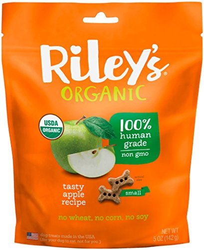 Riley's Organics Apple Bone, Small, 5 Oz.