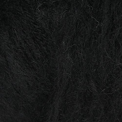 Plymouth Baby Alpaca Brush Yarn 500 Black