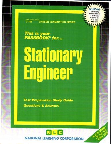 Stationary Engineer(Passbooks)