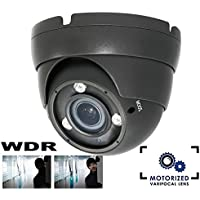 HDView 2.4MP HD-TVI SONY Sensor, Real WDR, Turbo Platinum Dome Camera 2.8-12mm Lens 1080P 42IR, Only Work With HD-TVI DVR