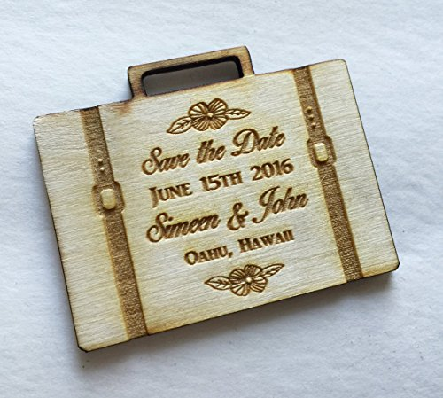 25 Destination Wedding Save the Date Magnets - Wedding -