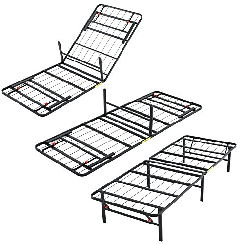 Classic Brands Hercules Heavy-Duty 14-Inch Platform Metal Bed Frame | Mattress Foundation, King