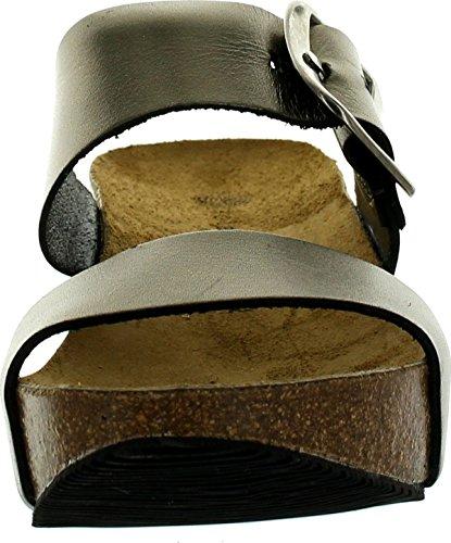 Eric Michael Womens Izzy Double Strap Fashion Sandals Bronze LfQhvcblt