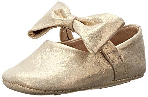 Image of Elephantito Girls Ballerina Baby with Bow, Metallic/Gold, 1 M US Infant