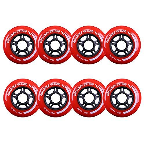 - Rollerex VXT500 Inline Skate/Rollerblade Wheels