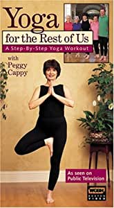 Yoga for the Rest of Us with Peggy Cappy [VHS]