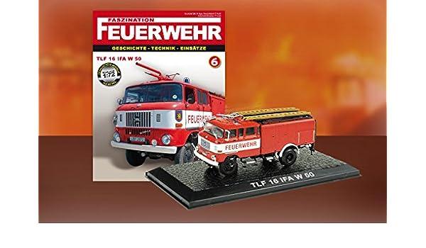 TLF 16 IFA W 50 - Camión bomberos Feuerwehr bomberos Die Cast 1: 72: Amazon.es: Juguetes y juegos